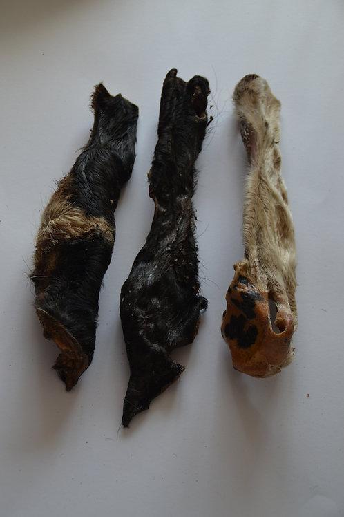 Rindernasen mit Fell  30cm Stück