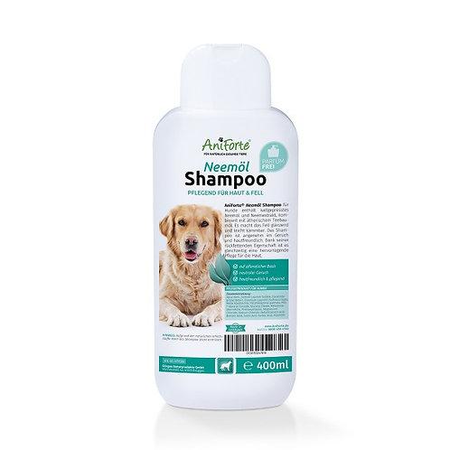 pflanzliches Neemöl Shampoo ohne Parfüm für Hunde 400ml