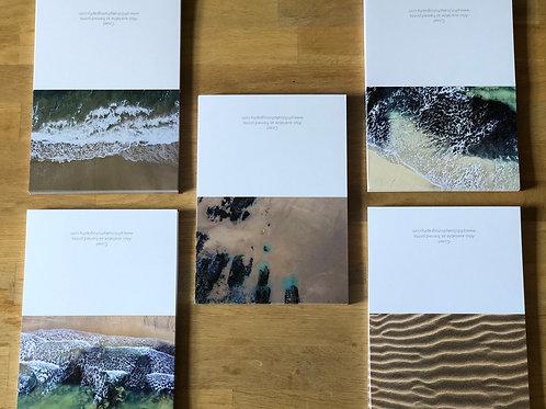 Gift Box of 5 Coast Cards & Envelopes