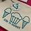 Thumbnail: Custom Small Zip-Up Bag