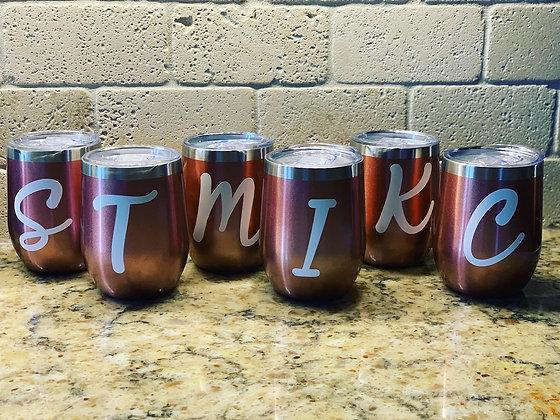 Personalized Wine Tumbler