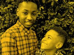 Aaden and Jackson