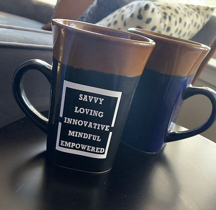 BE SLIME Two-Toned Mug