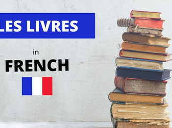 The Different Types of Books in French
