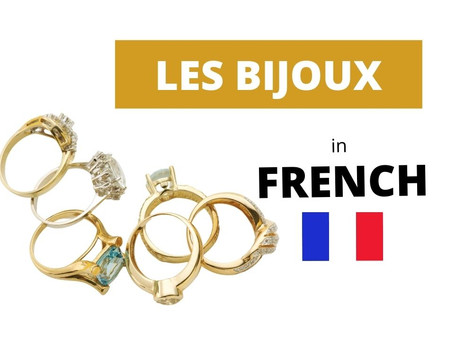 French jewelry - All the vocabulary you need