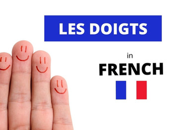 What Are The Fingers in French?