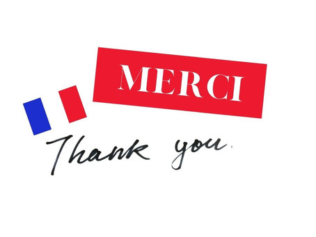 How to say THANK YOU in French?