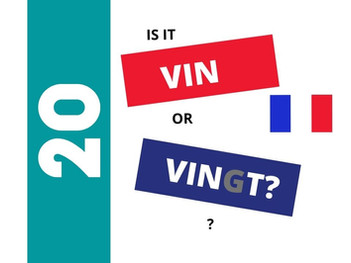 How to pronounce VINGT (20) in French?