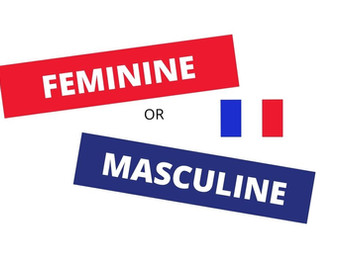 French genders - Masculine or Feminine?