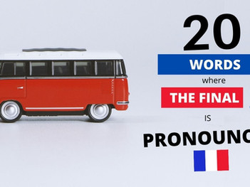 20 French Words Where The Final S Is Pronounced