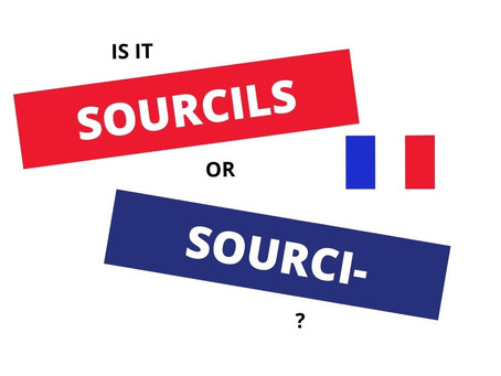 How to pronounce SOURCILS in French?