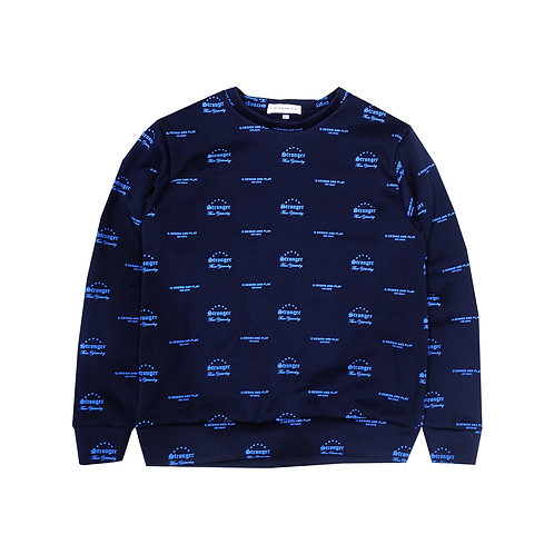 """STY"" BLUE SWEATSHIRT"