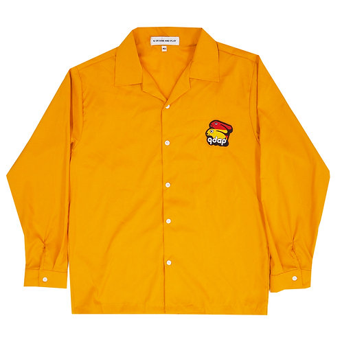 YELLOW LONG SLEEVE SHIRT