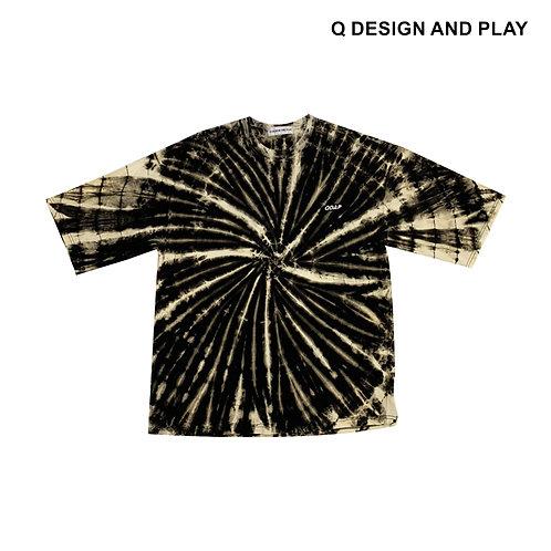 BLACK TIE DYE TEE / เสื้อมัดย้อมสีดำ