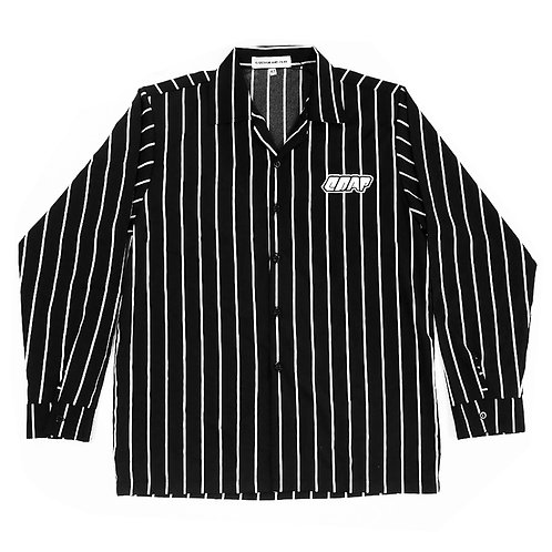 BLACK STRIPES LONG SLEEVE SHIRT