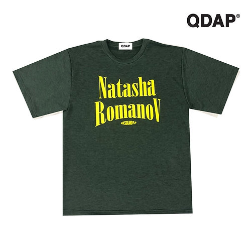 """GREEN """"NATASHA ROMANOV"""" TEE / เสื้อยืด แขนสั้น สีเขียว ลายนาตาชาโรมานอฟ"""