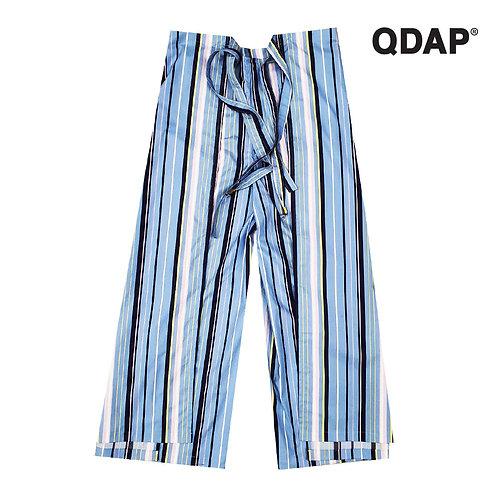BLUE/WHITE FISHERMAN PANTS กางเกงเล ลายทาง สีฟ้าขาว
