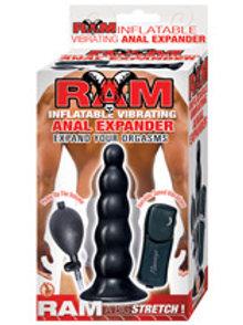 RAM Inflating Vibrating Anal Expander