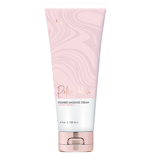 CG Pole Polish Kissable Massage Cream - Simply Naked 4oz