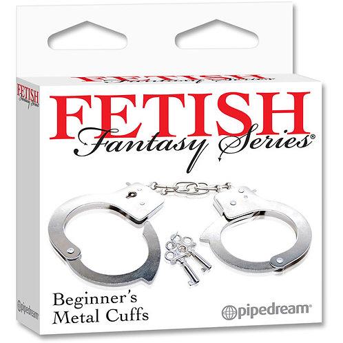 Fetish Fantasy Series Beginner's Metal Cuffs