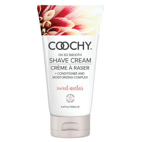Coochy Shave Cream - Sweet Nectar 3.4oz