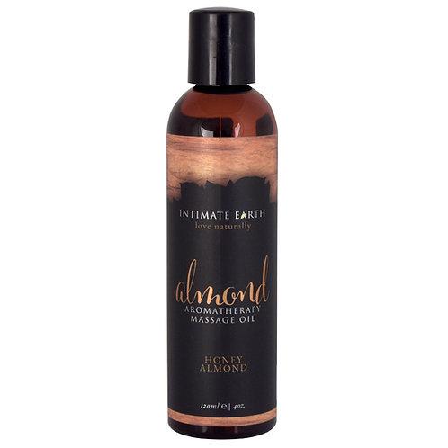 Intimate Earth Aromatherapy Oil - Almond 4oz