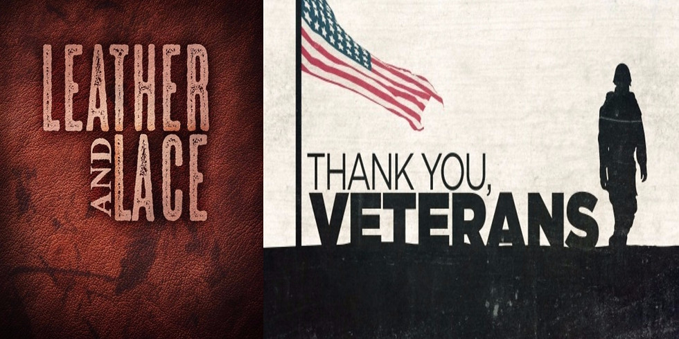 Veterans Day Leather and Lace