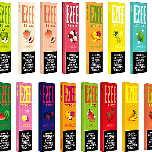 EZEE Sticks  -  Please Ask About Current Flavors