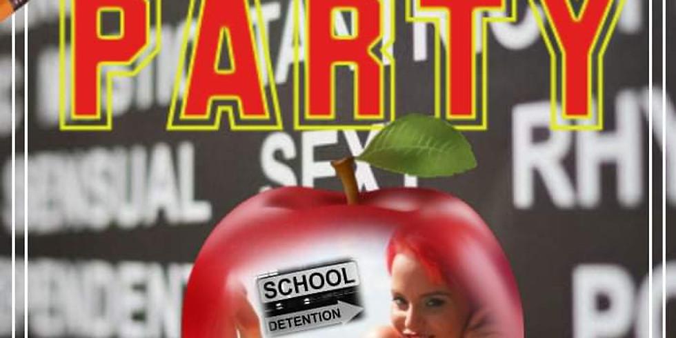 Naughty Schoolgirl Detention Hall