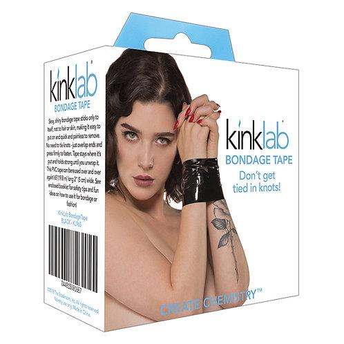 Kinklab Unisex Bondage Tape-Black