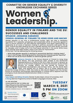 Gender Equality in Finland and the EU: Successes and Challenges