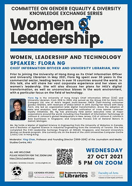 Women, Leadership and Technology