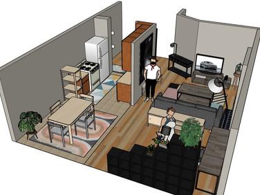 HC apartment