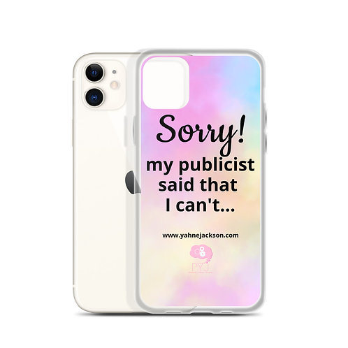 "iPhone | Tell Them ""NO"" case"