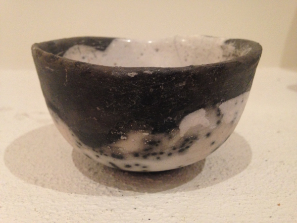 NAKED RAKU TEA BOWL