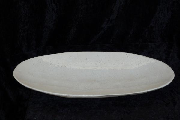 PLATTER OYSTER WHITE