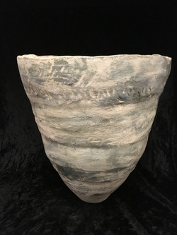VESSEL WITH BEACH AND SEA