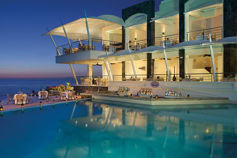 Hotel in Mexico by the beach