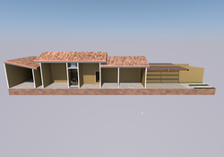 Casa geminada corte