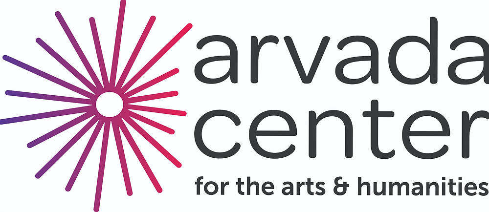 Logo: Arvada Center for the Arts & Humanities. (An asymmetrical starburst.)