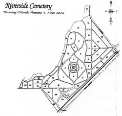 Riverside Cemetery Map