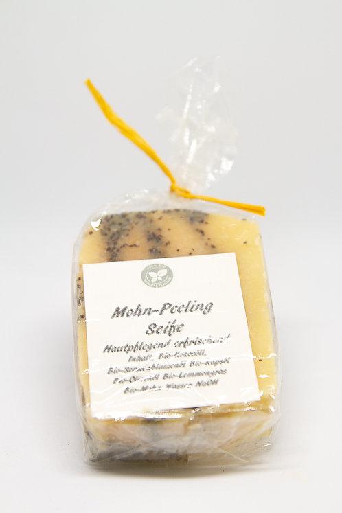 Mohn-Peeling Seife