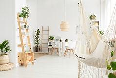 現代白色房間