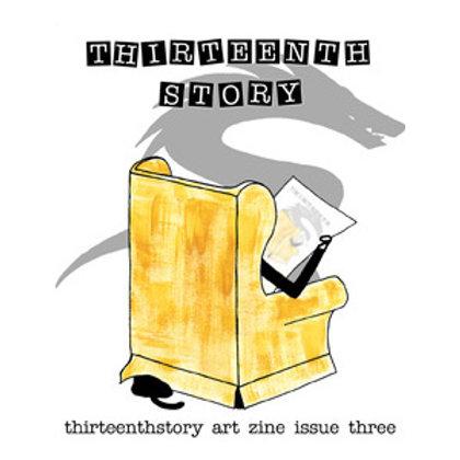 Thirteenthstory Art Zine Three, postage included