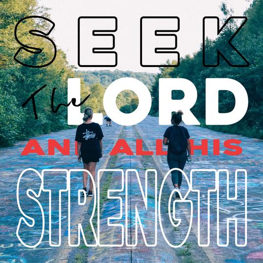 Seek the Lord (edit)