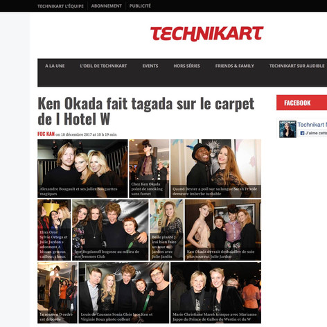 18/12/2017 TECHNIKART magazine. (France)