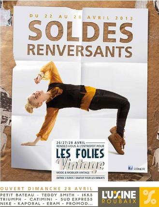 L'USINE ROUBAIX commercial. (France)
