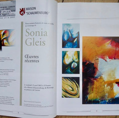 GALERIE 2000 magazine. (Luxembourg)