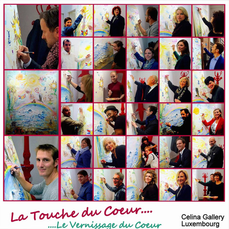 CELINA GALLERY communication. (Luxembourg)