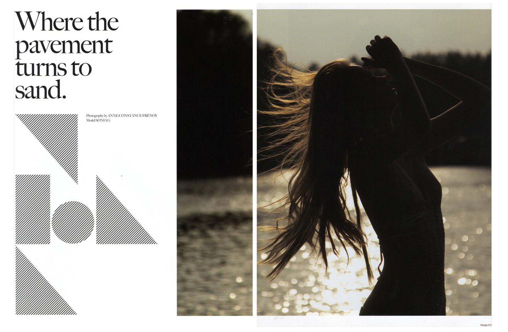 MIRAGE magazine. (International)